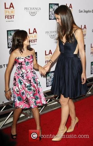 Bailee Madison and Katie Holmes 'Don't Be Afraid of the Dark' Premiere at 2011 LAFF at Regal Cinemas L.A. Live...