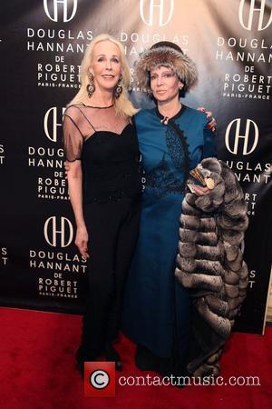 Barbie Bancroft, Mary McFadden  Douglas Hannant De Robert Piguet Fragrance Launch at the Payne at Whitney Mansion  New...