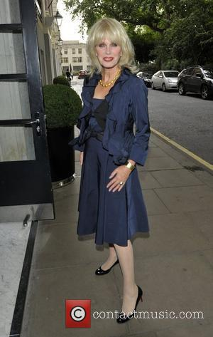Joanna Lumley 'An Evening with Downtown Abbey' event to benefit Medical Emergency Relief International (Merlin), held at the Savoy Hotel...