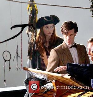 Karen Gillan, Doctor Who and Matt Smith