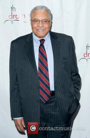 James Earl Jones 2011 Drama League Awards ceremony and luncheon at Marriot Marquis - Arrivals New York City, USA -...