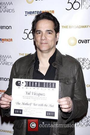 Yul Vazquez  The Official Reception for the 2011 Drama Desk Award Nominees held at Bombay Palace Restaurant. New York...
