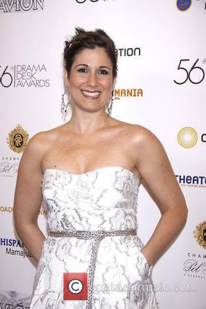 Stephanie J. Block  2011 56th Annual Drama Desk Awards held at Manhattan Center- Arrivals  New York City, USA...