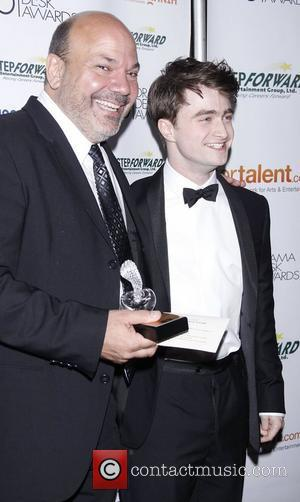 Casey Nicholaw and Daniel Radcliffe 2011 56th Annual Drama Desk Awards held at Manhattan Center - Press Room New York...