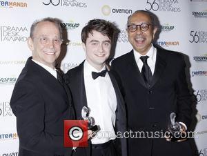 Joel Grey, Daniel Radcliffe and George C Wolfe