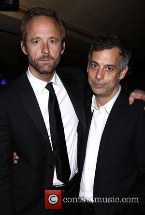 John Benjamin Hickey and Joe Mantello 2011 56th Annual Drama Desk Awards held at Manhattan Center - Press Room New...