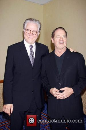 John Larroquette and Tom Wopat The 77th Annual Drama League Awards Ceremony and Luncheon held at the Marriott Marquis Hotel...