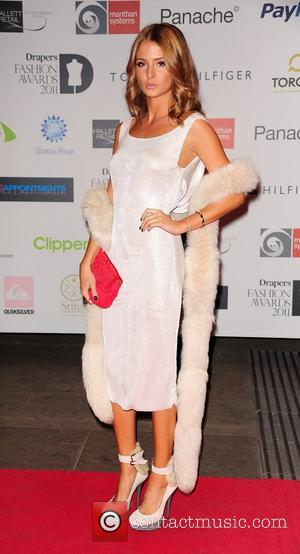 Millie Makintosh attending the Drapers Fashion Awards 2011 at the Grosvenor House Hotel, London, England - 16.11.11