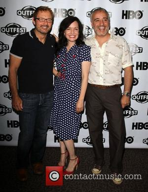 Guinevere Turner with Jury Members 2011 Outfest Film Festival Screening Of Drop Dead Diva held at the Directors Guild of...