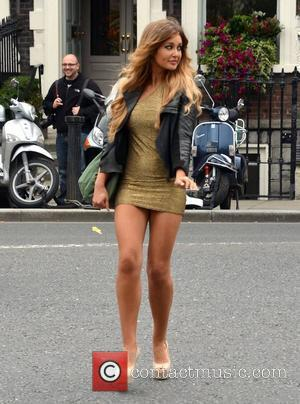 Rozanna Purcell Miss Universe Ireland 2010 attends a launch of The Dubliner Irish Whiskey Liqueur on St Stephen's Green Dublin,...