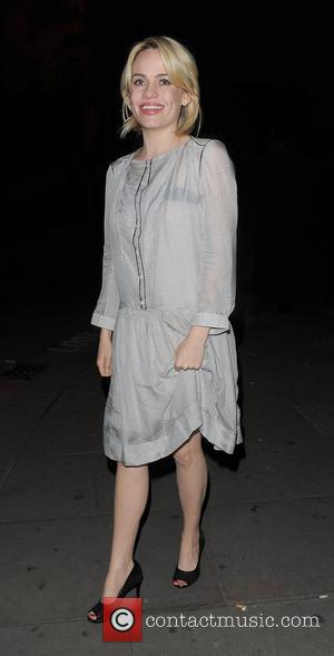 Aimee Ann Duffy aka Duffy leaving Concrete Club in Shoreditch at 2am, having spent the night there with her sister...