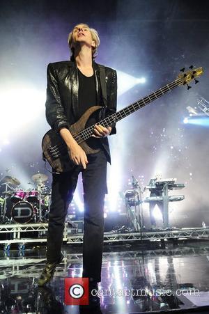 John Taylor of Duran Duran performs at Hard Rock live at the Seminole Hard Rock hotel & Casino in support...