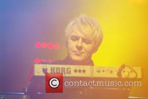 Nick Rhodes of Duran Duran performs at Hard Rock live at the Seminole Hard Rock hotel & Casino in support...