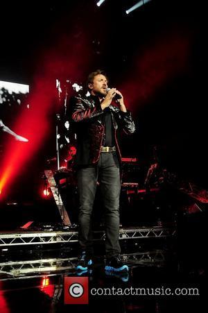 Simon Le Bon of Duran Duran performs at Hard Rock live at the Seminole Hard Rock hotel & Casino in...