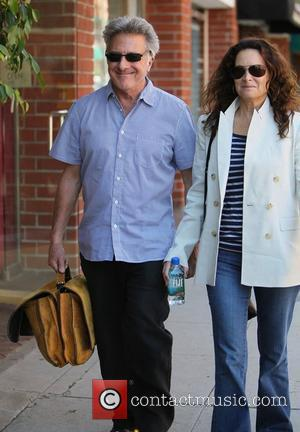 Dustin Hoffman and Lisa Gottsegen  leaving a medical building in Beverly Hills  Beverly Hills, California - 28.03.11