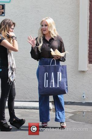 Lacey Schwimmer 'Dancing with the Stars' celebrities enjoy a taco lunch break outside the dance rehearsal studios Los Angeles, California...