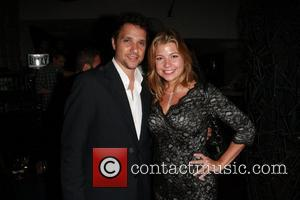 Ralph Macchio and Dana Wilkey 'Dancing with the Stars' season 13 premiere party at Hyde Lounge - Inside Los Angeles,...