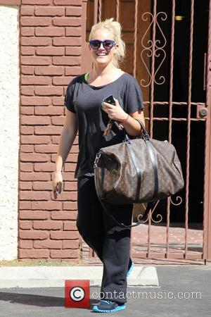Lacey Schwimmer 'Dancing with the Stars' celebrities outside the dance rehearsal studios  Los Angeles, California - 07.09.11