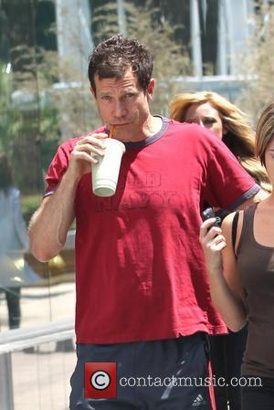 Dylan Walsh having lunch with a female companion Los Angeles, California - 06.05.11