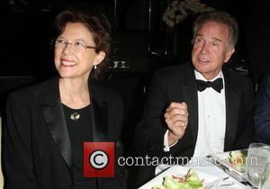 Annette Bening and Warren Beatty 2011 Eagle & Badge Foundation Gala held at The JW Marriott Los Angeles at L.A....