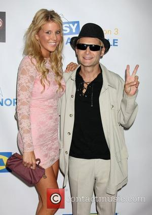 Corey Feldman and Guest 'Easy To Assemble' season 3 premiere held at the American Cinematheque's Egyptian Theatre  Hollywood, California...