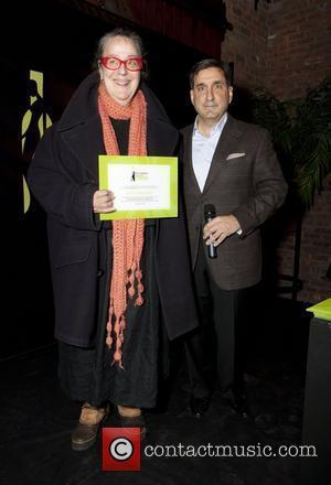 Kim Hastreiter and Roger Nebadian Ecco Domani Fashion Foundation Celebrates a Decade of Style at the Bowery Hotel New York...