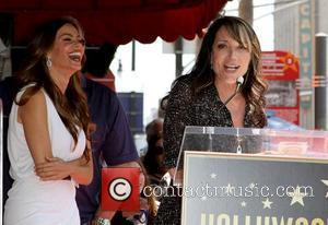 Sofia Vergara and Katey Sagal