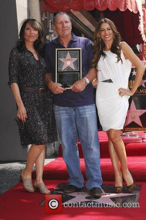Katey Sagal, Ed'Oneill, Sofia Vergara Ed O'Neill is honoured with a star on the Hollywood Walk of Fame, held on...