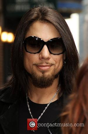 Dave Navarro 'The Late Show with David Letterman' at the Ed Sullivan Theater - Arrivals and Departures New York City,...