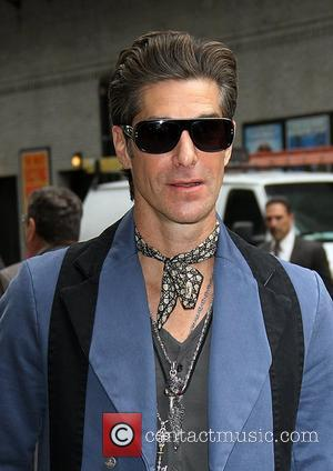 Perry Farrell 'The Late Show with David Letterman' at the Ed Sullivan Theater - Arrivals and Departures New York City,...