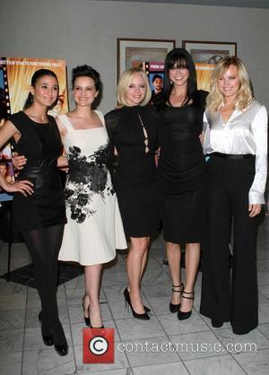 Adrianne Palicki, Carla Gugino, Malin Akerman and Marley Shelton