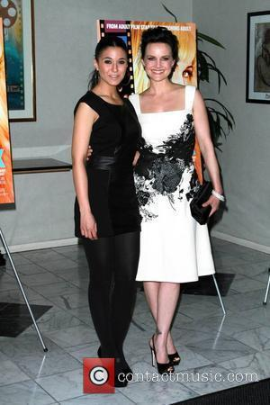 Emmanuelle Chriqui and Carla Gugino