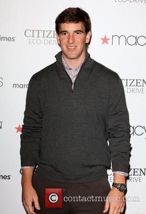 Eli Manning and Macy's
