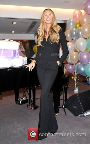 Elle Macpherson Celebrates the 10th Anniversary of Elle Macpherson intimates being sold at Selfridges. London, England - 15.11.11