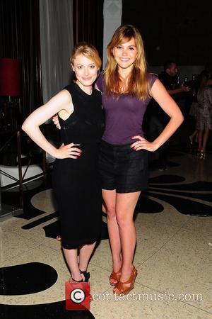Gillian Jacobs and Aimee Teegarden