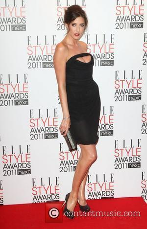 Lisa Snowdon ELLE Style Awards 2011 held at the Grand Connaught Rooms - Arrivals London, England - 14.02.11