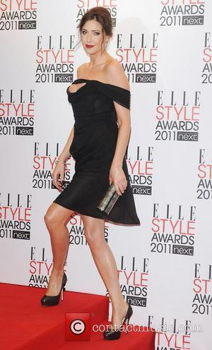 Lisa Snowdon,  ELLE Style Awards 2011 held at the Grand Connaught Rooms - Arrivals London, England - 14.02.11