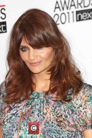 Helena Christensen ELLE Style Awards 2011 held at the Grand Connaught Rooms - Arrivals London, England - 14.02.11