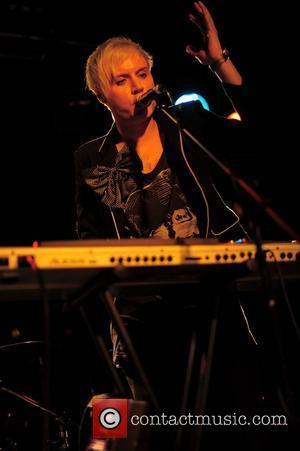 Alex Juno of Elmo Sex Whistle performing at the O2 Arena Birmingham, England - 03.04.11