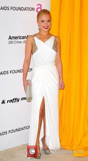 Hayden Panettiere, Elton John and Academy Awards