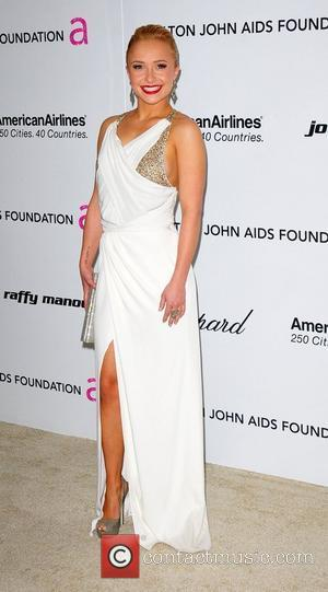 Hayden Panettiere 19th Annual Elton John AIDS Foundation Academy Awards Viewing Party held at the Pacific Design Center - Arrivals...
