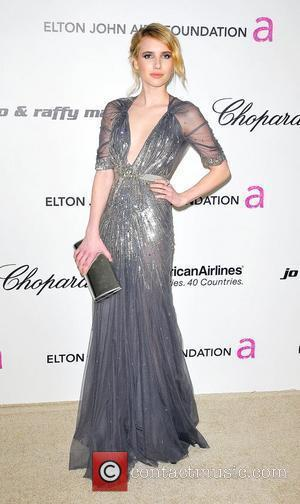 Emma Roberts 19th Annual Elton John AIDS Foundation Academy Awards Viewing Party held at the Pacific Design Center - Arrivals...