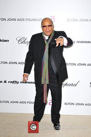 Quincy Jones 19th Annual Elton John AIDS Foundation Academy Awards Viewing Party held at the Pacific Design Center - Arrivals...