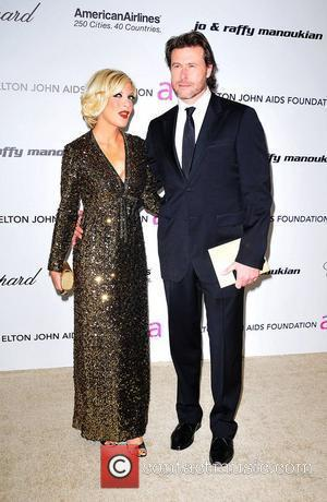 Tori Spelling, Dean Mcdermott, Elton John and Academy Awards