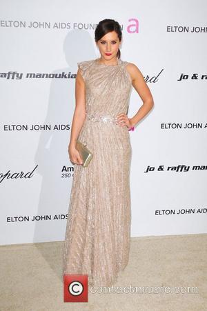 Ashley Tisdale and Elton John