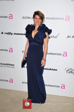 Nia Vardalos 19th Annual Elton John AIDS Foundation Acaademy Awards Viewing Party held at the Pacific Design Center - Arrivals...