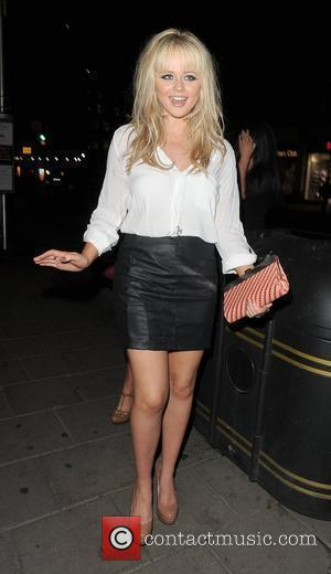 Emily Atack leaving the 100 Club, where her mother Kate Robbins, cousin of Sir Paul McCartney, was performing. London, England...