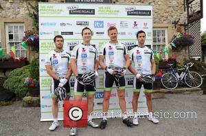 Tom Lister, James Thornton and Kelvin Fletcher