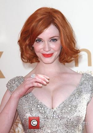 Christina Hendricks  The 63rd Primetime Emmy Awards held at the Nokia Theater LA LIVE - Arrivals Los Angeles, California...