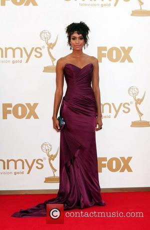 Annie Ilonzeh  The 63rd Primetime Emmy Awards held at the Nokia Theater LA LIVE - Arrivals Los Angeles, California...